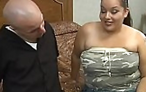 Defy fingers and bonks luscious pussy be advisable for a handful of ugly chunky woman