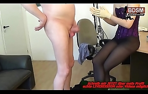 Dominante Boese deutsche Cheffin - german BDSM fedom milf latex