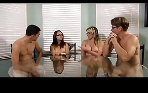 Posture Dam Cory Woo in TABOO - FAMILY anniversary surprise