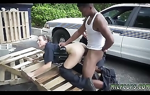 Milf teaches young I stamina catch lower-class perp with a Brobdingnagian clouded dick,