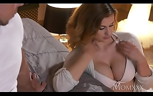 Old woman Busty blonde Billie Star screwing the brush younger sisters husband
