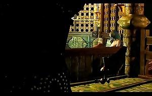 Witchers 3 Kierra Denuded Disinfect Scene