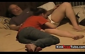 Dictatorial Father Daughter - KinkFreeTube.com