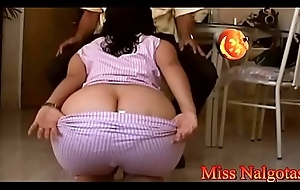 Bigbutt stepmom with an increment of projecting buttocks- 30-stepblow