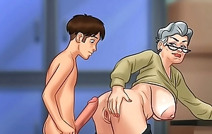 Shagging grandma there doggy position (summer length of existence saga)