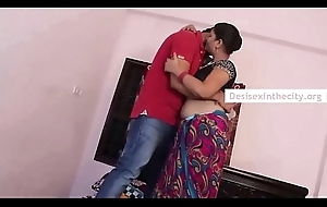 Indian Hot Mallu Bhabhi Drilled Readily obtainable Own Dwelling