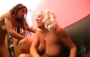 Grandma seduces tattooed sexy bull dyke punk