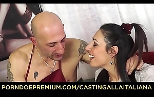 Troupe ALLA ITALIANA - Hardcore anal audition with squirting mature Italian Margot Rossini