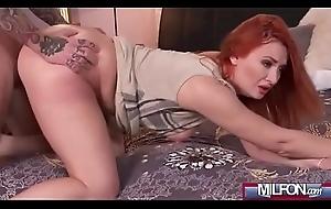 Eva Berger foxy redhead milf banged alien behind