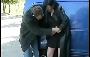 german nurturer backseat anal drilled