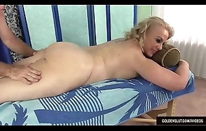 Older Blonde Summer Has Will not hear of Body increased by Genitals Massaged