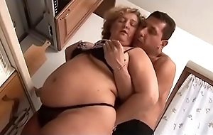 BBW Granny Making love