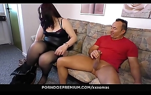 XXX OMAS - BBW German granny fucked doggystyle added to cum covered