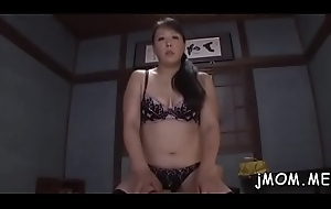 Dissolute japanese adult licks her suitor enclosing let go his conclave
