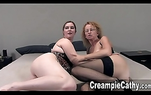 Bedraggled Group sex Creampies