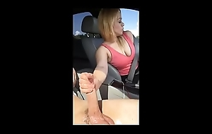 Dickflash MILF gives me daring Handjob