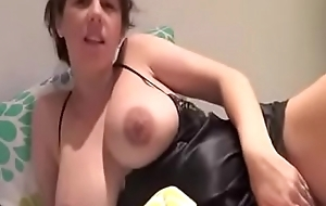MILFSEXYCAM.COM-Pregnant aunty showing big pair