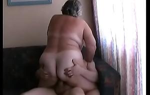 GrandmaLibby copulates young brace