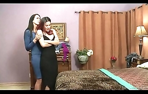 I indeed think, You'_re a lesbian! - Vanessa Veracruz coupled with Reagan Foxx