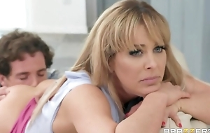 Rebellious tow-haired MILF gets caught shacking up their way best friend's son